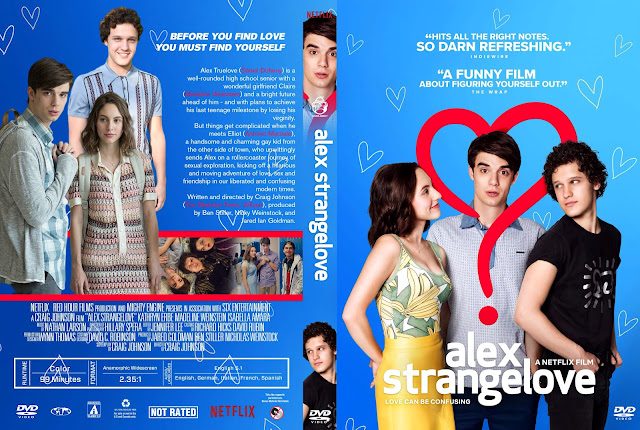 Alex Strangelove DVD Cover