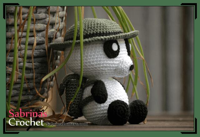 Gratis Haakpatronen Indiana Panda Nederlands