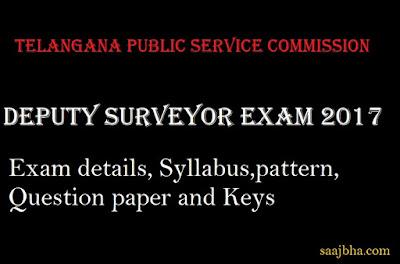 Telangana Deputy Surveyor Exam Syllabus and Pattern