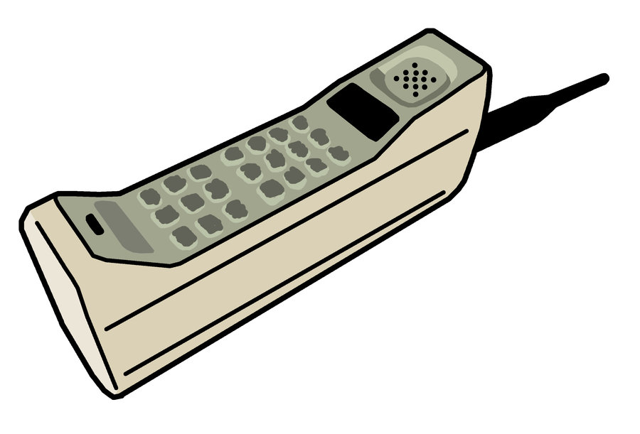 My Notebook and Me: Is Technology Ruining the English ...Old Cell Phone Clip Art