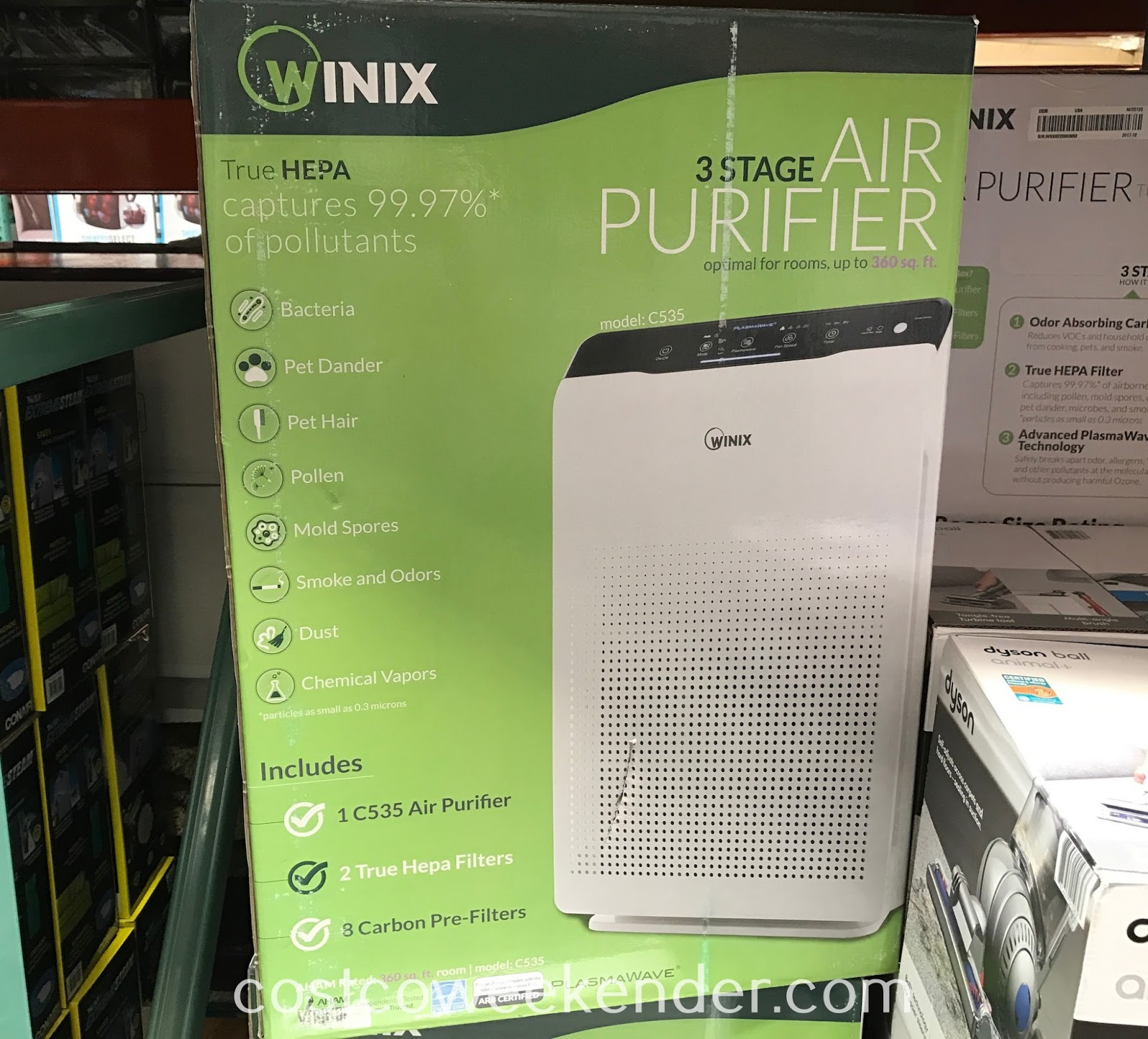Breathe easier with the Winix Air Purifier (model C535)