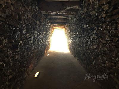 Visitar Dólmenes de Antequera corredor de aparejo