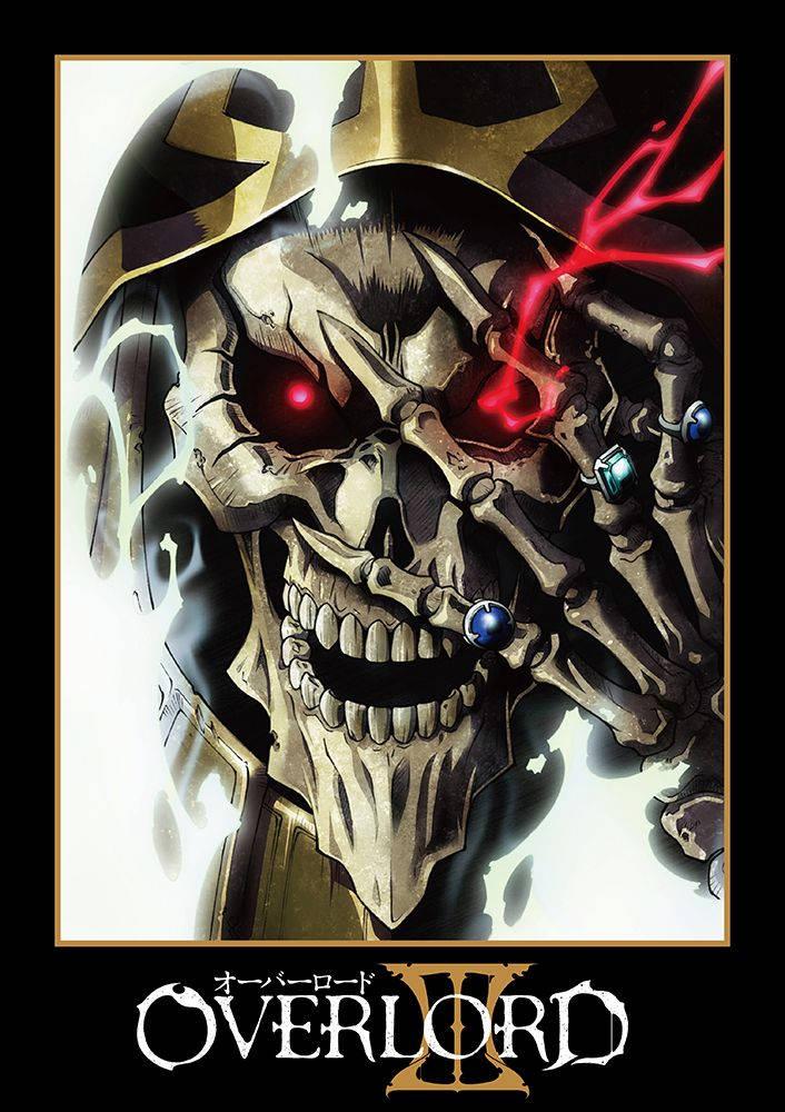 Plakat anime Overlord 3