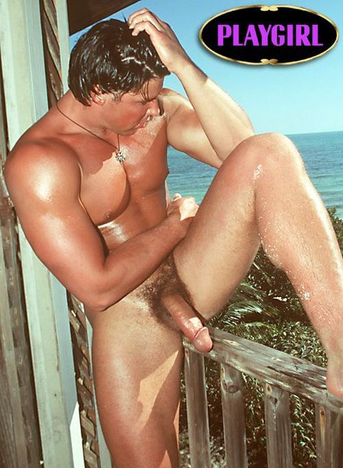 Jason brooks in playgirl magazine think