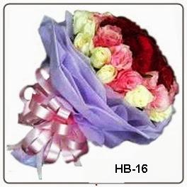 Hand Buket Mawar