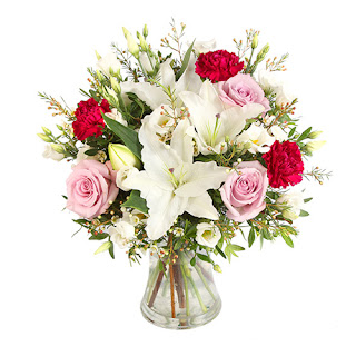 105422 standing Flower Bouquet Giveaway | Win and Choose Your Own Mothers Day Bouquet from Serenata Flowers
