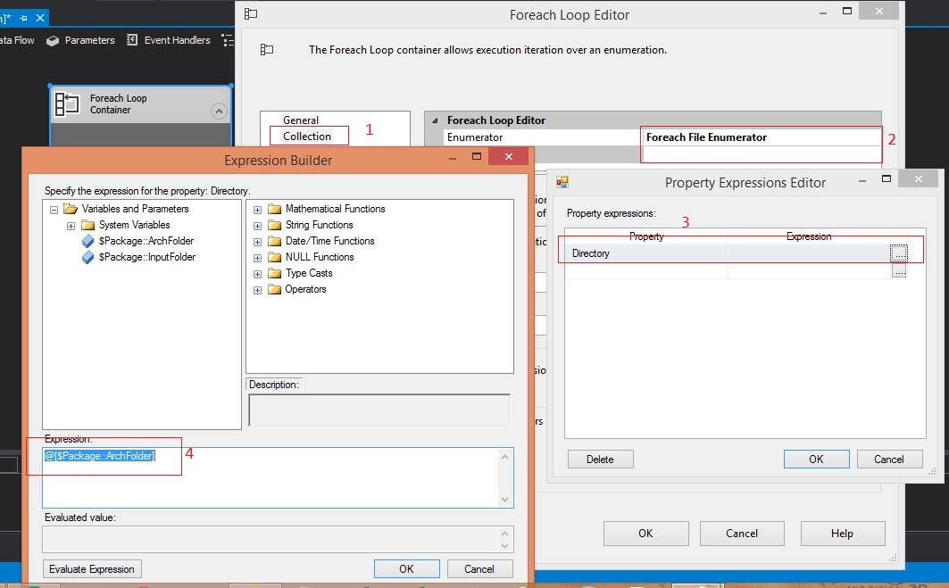 SSIS: Extract Files From Zip Files and Delete after UnZipped in SSIS