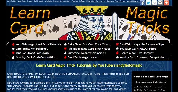 Learn Card Magic Tricks