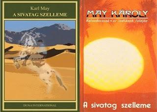 Karl May A sivatag szelleme könyv bemutatás