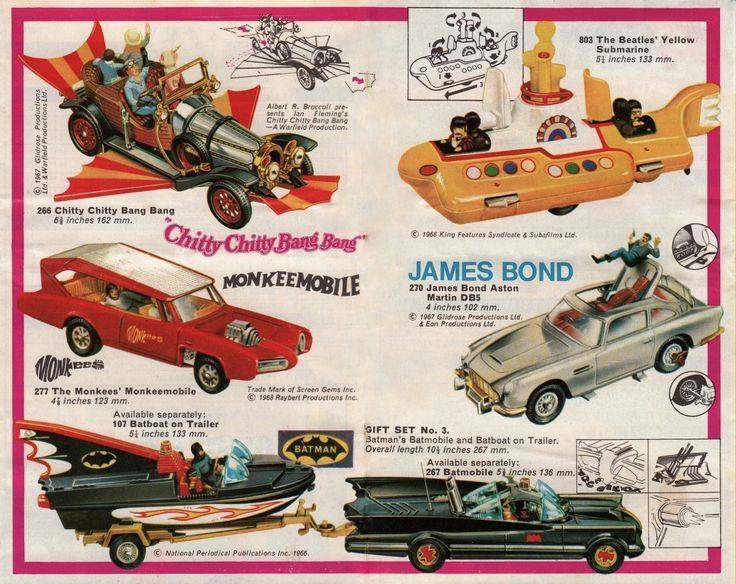 Just A Car Guy: cool car toys of the 60s