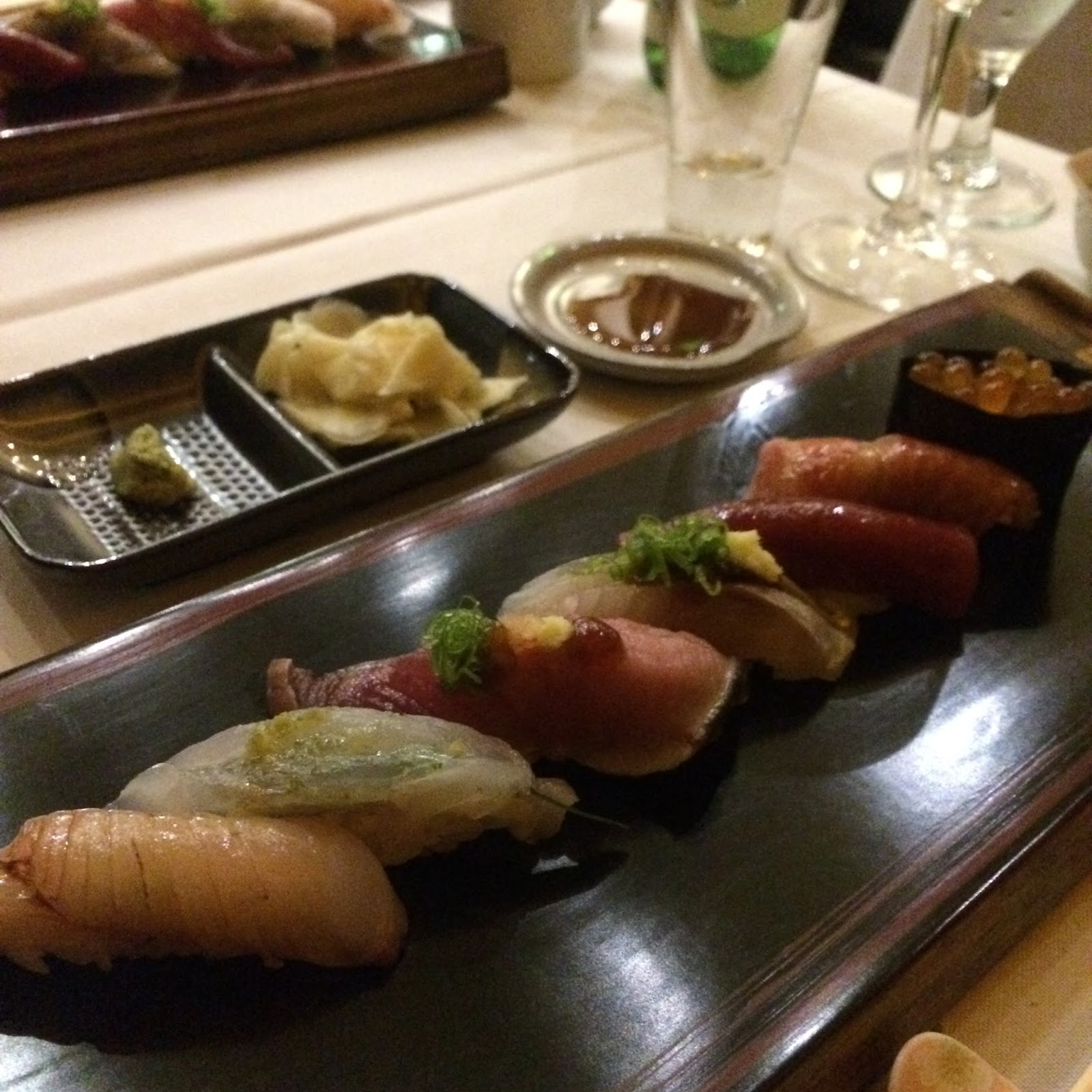 Featuring Craft Sake Breweries From Diffe Regions Of An The Dinner Was At A Por Sushi Restaurant Shiki In Beverly Hills