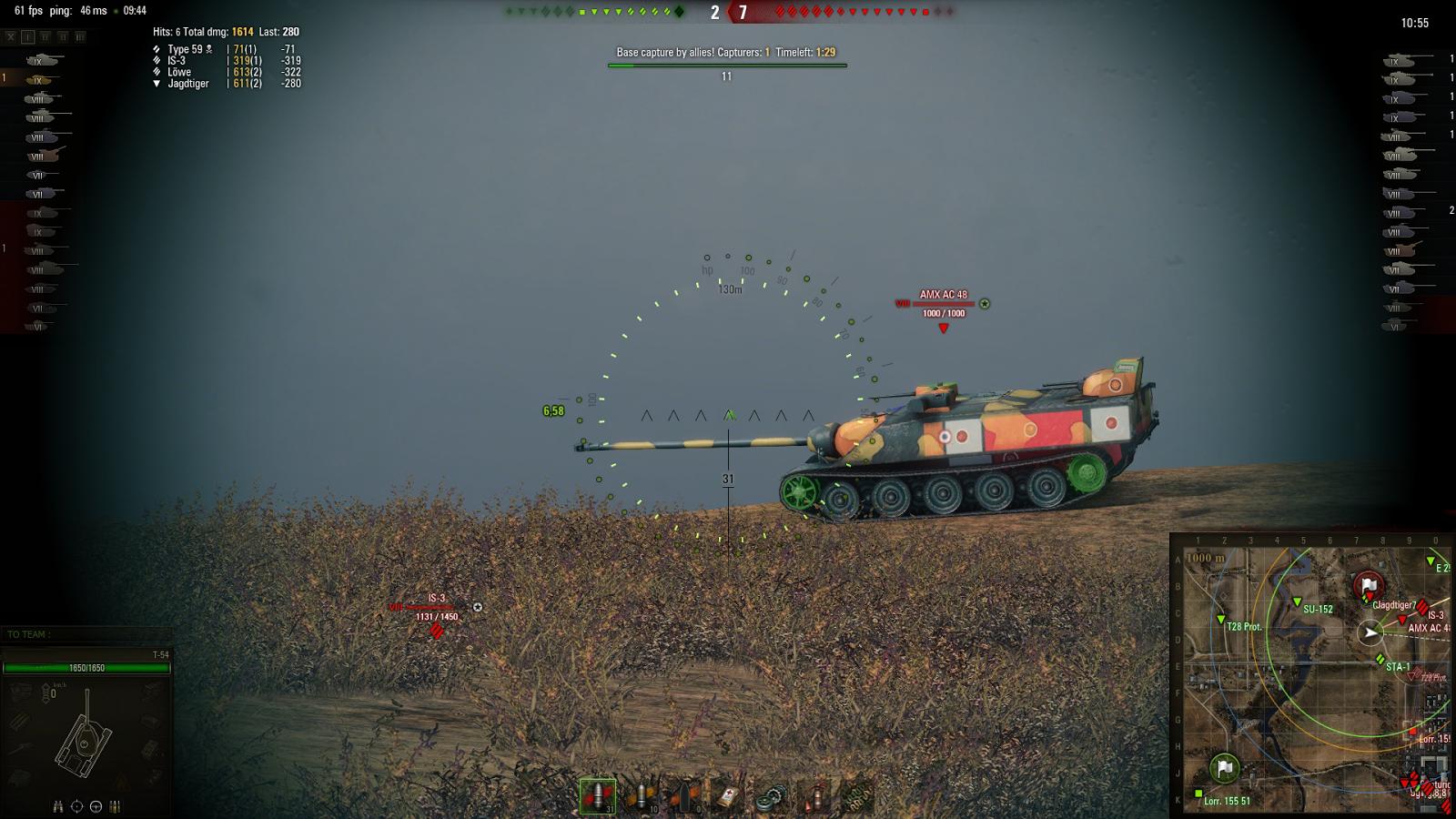 Chuck's World of Tanks Mods: 0 9 12 Lportii Aimbot