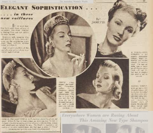 The History Girls: 1940s hairstyles - describing a character in bobs ...