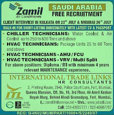 Gulf Jobs for Malayalees at Kerala