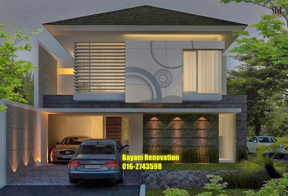 Desain Rumah Banglo Moden