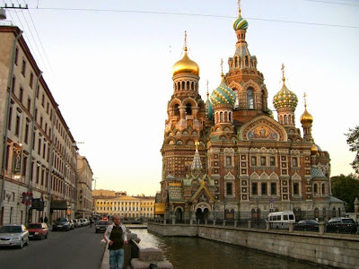 Iglesia de la Sangre Derramada en San Petersburgo