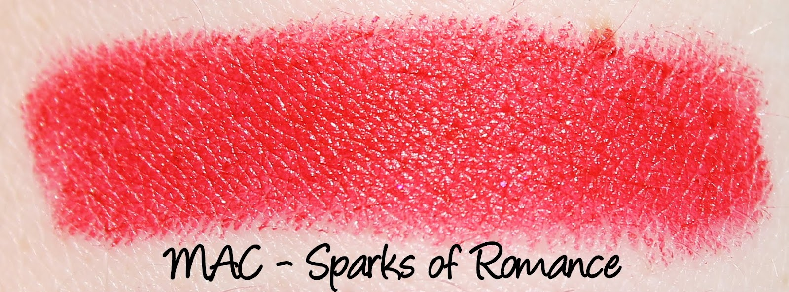 MAC Heirloom Mix Lipsticks - Sparks of Romance Swatches & Review