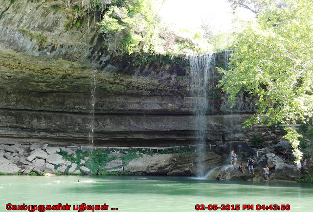 Texas Waterfalls Hamilton Pool