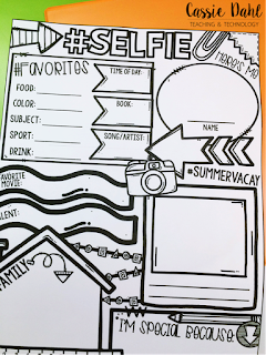 "Click here to download a ""Selfie"" poster for your classroom"