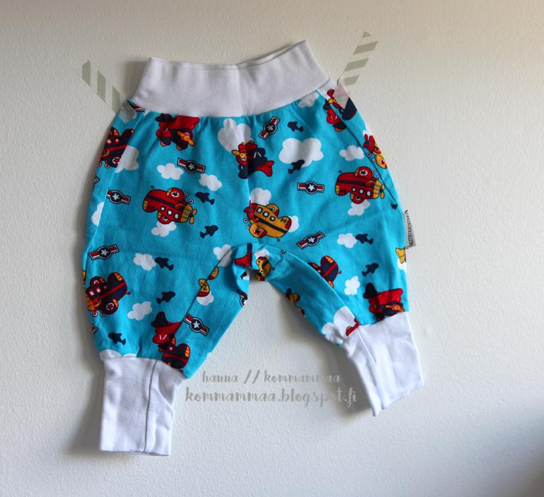 nosh baggy housut trikoo