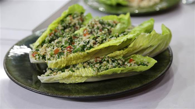 there is no gathering or meal that doesn Tomato, Herb and Bulgur Wheat Salad (Tabbouleh) Recipe