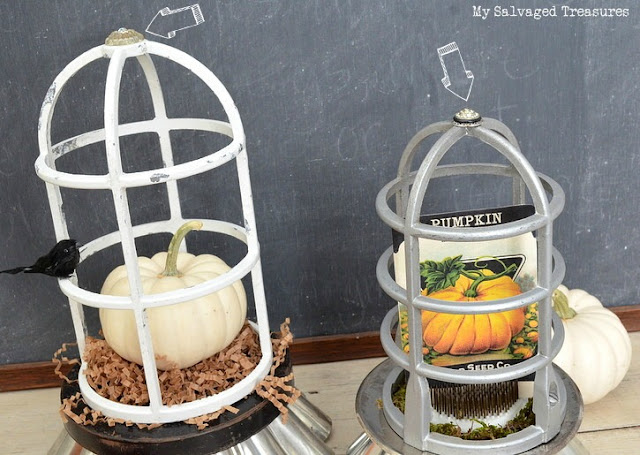 repurposed trash to treasure cloches