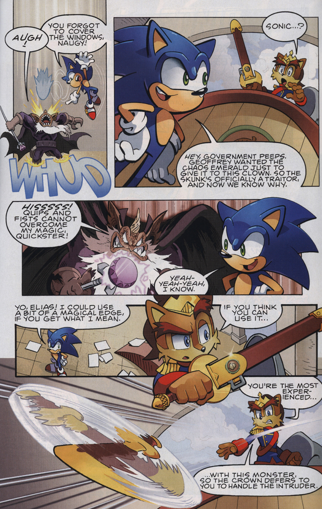 Read online Sonic The Hedgehog comic -  Issue #223 - 23