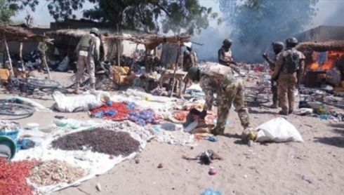 Seriously? Boko Haram have their own market in Borno State