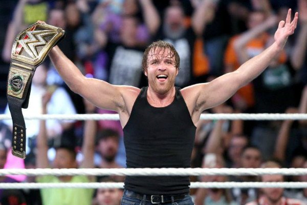 Pro Wrestling Outsider Wrestling News Dean Ambrose Is The New Wwe World Heavyweight Champion