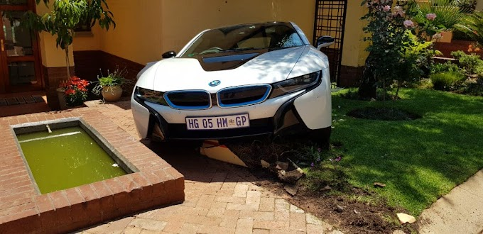 'HOUSEKEEPER' CRASHES R2.3M BMW i8 WHILE FAMILY AWAY ON HOLIDAY