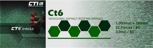 Atap Bitumen CTI CT6