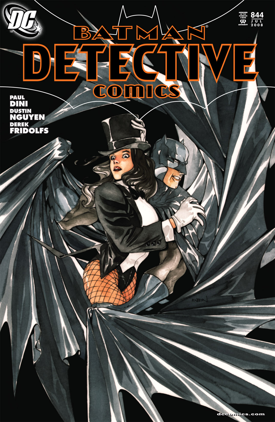 Detective Comics (1937) 844 Page 1