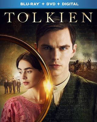 Tolkien 2019 Blu Ray