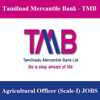 Tamilnad Mercantile Bank, TMB, Bank, Tamilnadu, Telangana, Agriculture Officer, freejobalert, Sarkari Naukri, Latest Jobs, tmb logo