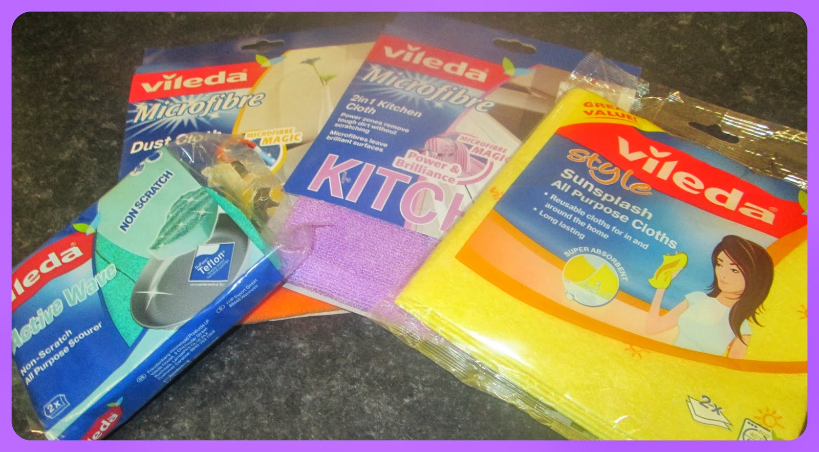 Vileda cleaning products for the home