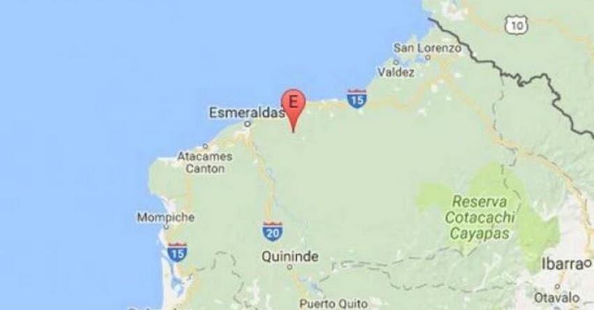 TEMBLOR EN ECUADOR de 4.0 Grados (Hoy Jueves 27 Abril 2017) Terremoto Sismo EPICENTRO Esmeraldas - www.igepn.edu.ec