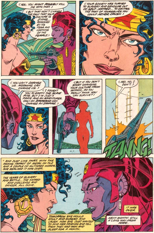 Read online Wonder Woman (1987) comic -  Issue #70 - 23