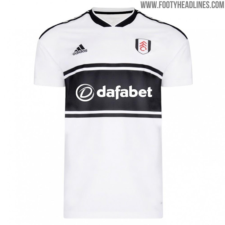 Fulham 18-19 Premier League Home   Away Kits Launched - Footy ... a085c2747