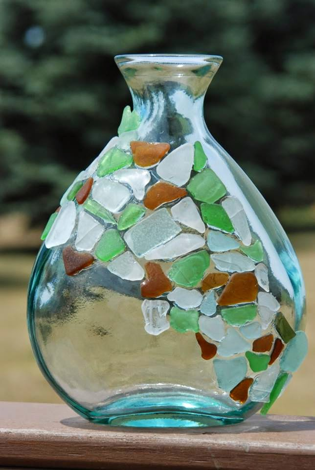 craft with sea glass creative art and craft ideas