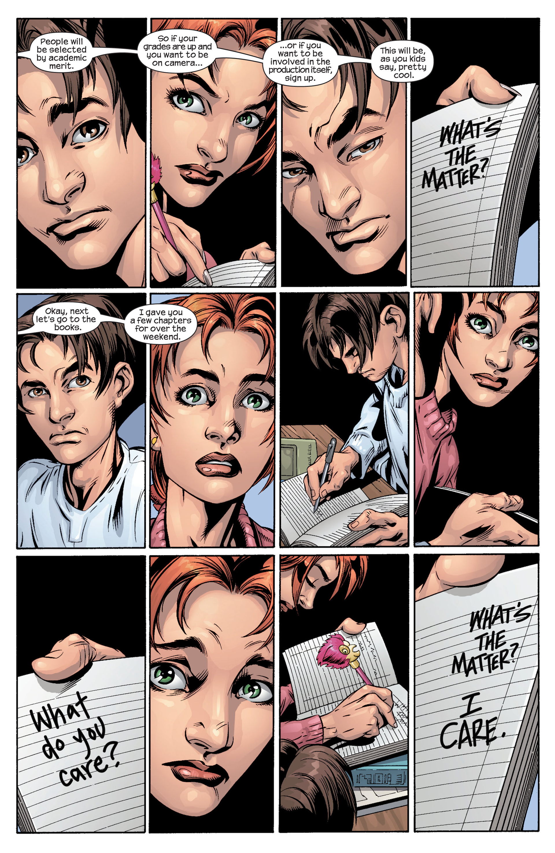 Read online Ultimate Spider-Man (2000) comic -  Issue #40 - 6