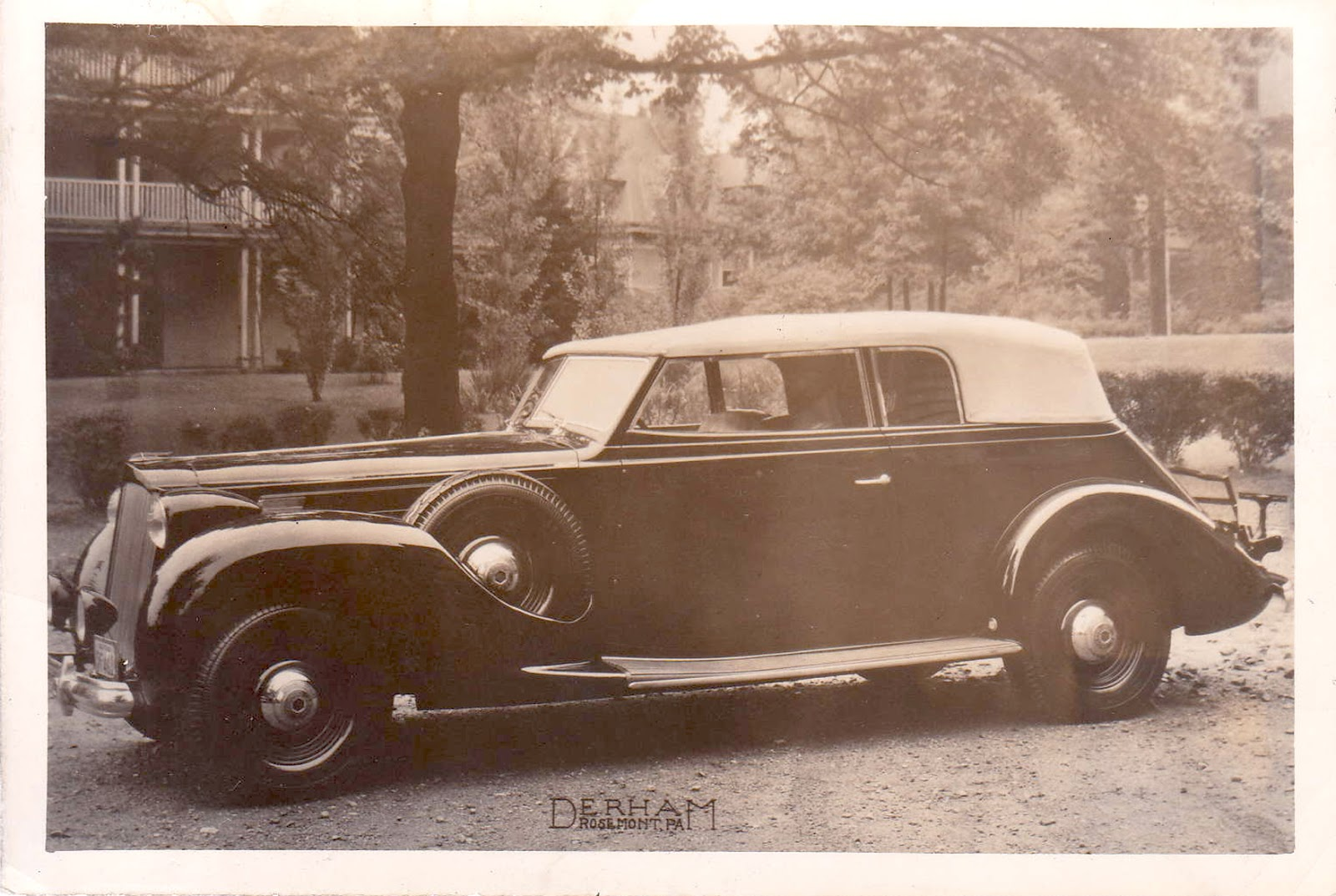 Vintage Motoring Blog: Derham bodied Packard, Pierce and Cadillac