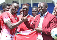 3 - This is evil! See what RUTO has been doing to NICK MWENDWA and Harambee Stars after he duped them about 50 million?