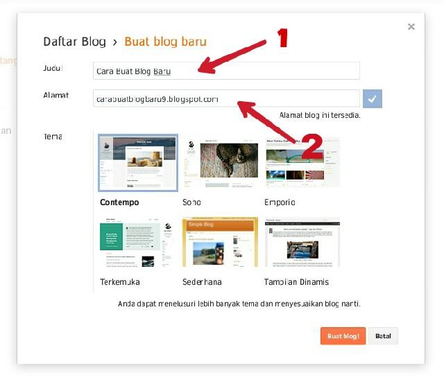Tutorial Membuat Blog di Blogspot dengan Sangat Mudah