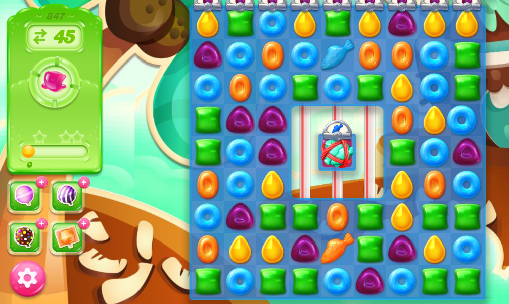 Candy Crush Jelly Saga 347