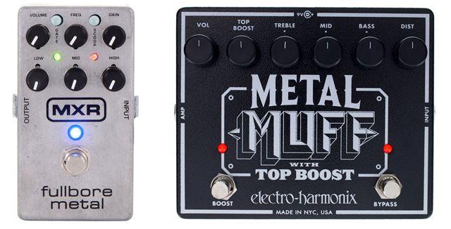 Electro Harmonix Metal Muff Vs MXR M116 Fullbore Metal