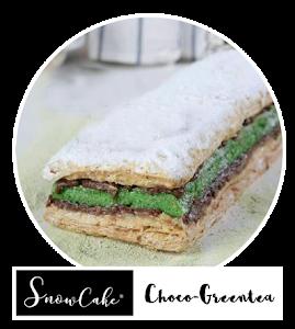 Cnowcake Choco Greentea