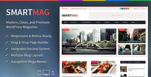 SmartMag v2.0 Responsive & Retina WordPress Magazine Theme