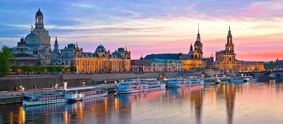 Historical city of Dresden