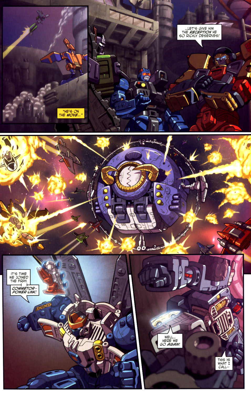 Read online Transformers Armada comic -  Issue #18 - 16