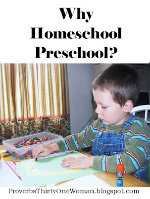 Homeschooling the Preschool Years